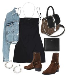 """""""Sin título #854"""" by above3600 ❤ liked on Polyvore featuring Yves Saint Laurent, Miss Sixty and Gucci"""