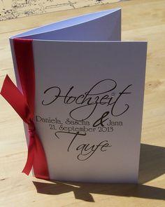 Hochzeit+Taufe Einladung   Mit Blauen Verzierungen | Janinas Hochzeit |  Pinterest