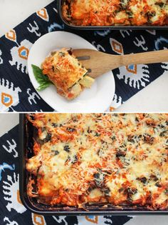 Use zucchini and carrots in place of pasta to make this healthy lasagna.