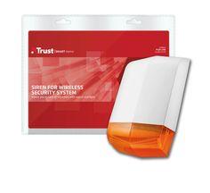 Wireless Alarm Siren, Trust Smart Home Wireless Security System, Smart Home, Trust, Ideas, Smart House, Thoughts
