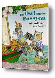 The Owl and the Pussycat by Jan Brett.com Hedgie's Treasure Trove for July 9th FREE: sign up & subscribe to newsletters  Projects for a summer day...craft and learning activities for children. http://www.janbrett.com/index.html