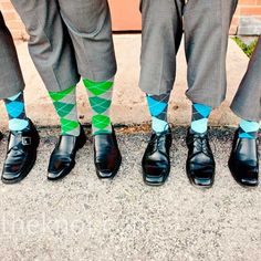 """if i ever find """"the one"""", he must like argyle socks, because he will be wearing them on that day. i LOVE this!!"""
