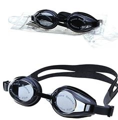 Superassure Prescription Swim Goggles, Silicone Goggles with Adjustable Fit, Anti-Fog, and UV Protection -- You can find more details by visiting the image link.