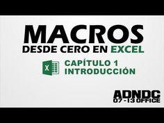 Macros Excel, Cap. 1 Introducción, para que sirve, nuestra primera Macro @ADNDC @Adan Jerreat-Poole