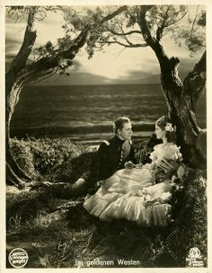 Portrait of Jeanette MacDonald and Nelson Eddy from Rose Marie.