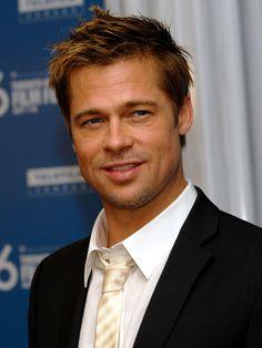 Brad Pitt Short Hairstyle