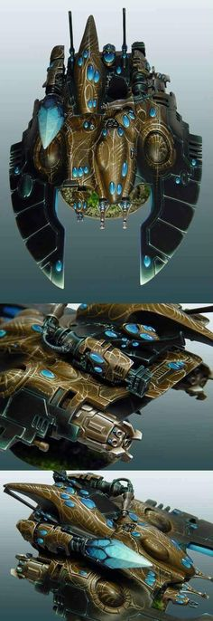 40k - Eldar Fire Prism Gorgeous paint job and original, too