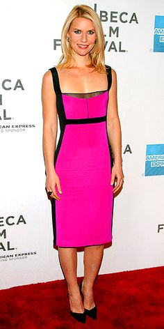 Claire Danes in Narcisco Rodriguez @ the Tribeca Film Festival... how fun!