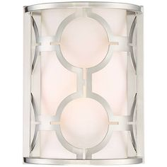 "Possini Euro Decadence 10 1/4""H Brushed Nickel Wall Sconce - #9J329 