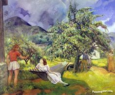Summer Artwork by Leon Kroll Hand-painted and Art Prints on canvas for sale,you can custom the size and frame