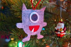 Projects by Me: Christmas Monster