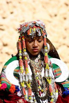 beautiful representation of ethnic clothing + jewelry