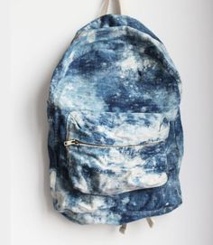 bag backpack acid wash denim backpack grunge wishlist blouse blue light  blue dope white marble denim indie tie dye vintage school bag fashion back  to school ... 863a67dec5af7