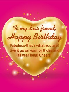 To my lovely friend happy birthday wishes card another fabulous to my dear friend happy birthday wishes card for a fabulous friend and an m4hsunfo