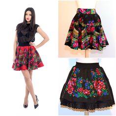 Floral skirts<3 #traditionalprint