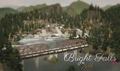 Bright Falls world for Sims 3 by Stefizzi - Free Sims 3 Worlds Downloads Tic Tac Toe Custom Content Caboodle - Best Sims3 Updates and Finds
