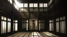 Dojo(道場) : a place where judo, jujustu, aikijujutsu, and kendo is practiced.