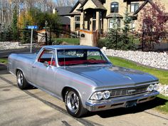 1966 Chevrolet El Camino Custom Maintenance/restoration of old/vintage vehicles: the material for new cogs/casters/gears/pads could be cast polyamide which I (Cast polyamide) can produce. My contact: tatjana.alic14@gmail.com