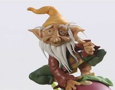 Cold Porcelain Tutorials: How to Make this Gnome More Tutorials  http://coldporcelaintutorials.blogspot.com/search/label/step%20by%20step