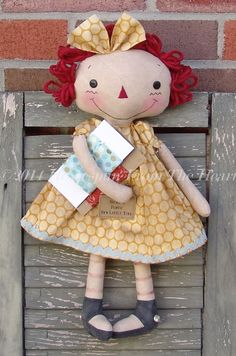 The Old Country Store Quilter and Crafter Raggedy Doll $5.50