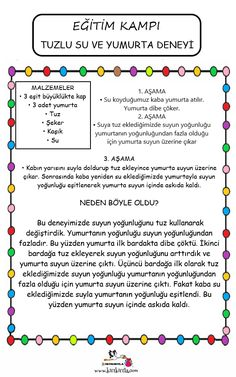 15 TATİL KAMP PROGRAMI Science For Kids, Activities For Kids, Happy Birthday To Us, Time Kids, Prep School, Home Schooling, Best Wordpress Themes, Kids Learning, Chemistry