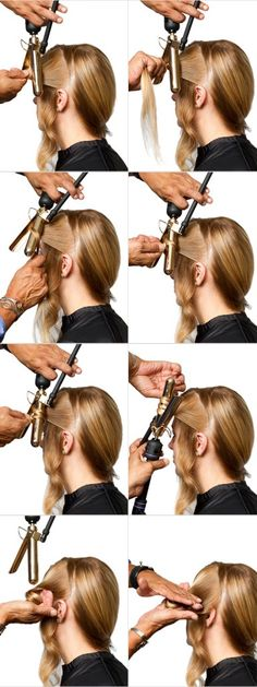 How To Create Loose Textured Waves Or Curls On Long Hair | Sam Villa Blog