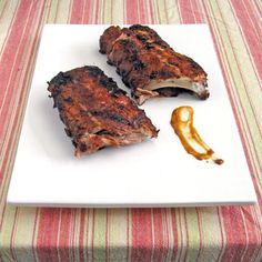 Sweet Chipotle Glazed Baby Back Ribs - SippitySup