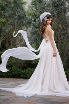 Amy michelson on pinterest hotel suites spotlight and for Mon amie wedding dresses