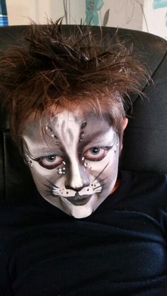 Cat makeup Jbroomhall makeup artist & body art