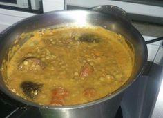 Lentejas con chorizo para #Mycook http://www.mycook.es/receta/lentejas-con-chorizo
