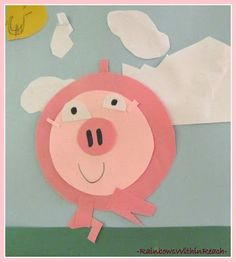 This Little Piggy Art Project: Concentric Circles in Children's Art