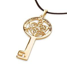 Key of Success Gold Talisman for good luck and success