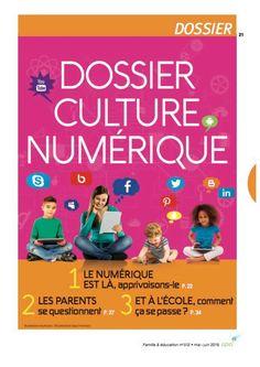 93c26154b902 Le magazine Famille   éducation consacre son numéro de mai-juin 2016 à la  culture