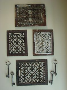 Architectural Salvage Wall Sculpture