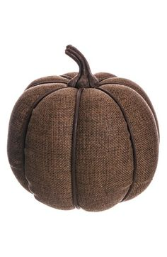 Free shipping and returns on ALLSTATE Burlap Pumpkin Decoration at Nordstrom.com. A burlap-wrapped pumpkin lends a touch of rustic charm to your seasonal décor.