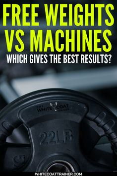 When creating a workout routine, there are many different types of exercises you can choose from. Should you use free weights, machine weights, or bodyweight exercises? Should you use them all? Today we will discuss the pros and cons of free weights vs machines and help you decide which one you need to use in your workout routine. In this post, you'll get an idea about the pros and cons of Free weights vs machines, and much more.... #weights #weightloss Weight Lifting Workouts, Strength Training Workouts, Fit Board Workouts, Body Workouts, At Home Workouts, Fitness Equipment, No Equipment Workout, Upper Back Exercises