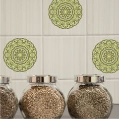 Indian Swirl tile graphics