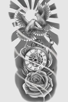 Half Sleeve Tattoos Sketches, Half Sleeve Tattoos Forearm, Half Sleeve Tattoos For Guys, Best Sleeve Tattoos, Skull Rose Tattoos, Rose Tattoos For Men, Body Art Tattoos, Dope Tattoos, Tattoo Arm Mann