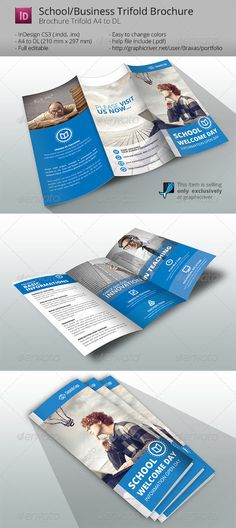 School Welcome Brochure Template Brochure template and Brochures - school brochure template