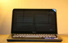 Sony Vaio SVE14A27CXH Touchscreen Gaming Laptop. i7-3632QM, 8GB, 1TB, HD7670M  Full Touchscreen, Backlit Keys, ArtRage, 1600 x 900 LED