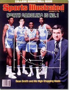 The 1981-82 preseason SI issue without the freshman phenom, Michael Jordan