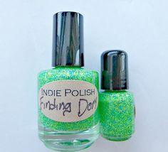 Finding Dory Nail Polish   mini bottle   Handmade  by IndiePolish, $3.95