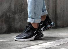 9cd5fc854d Nike Air Max 270 | Black/Solar Red/White/Anthracite | Mens Trainers