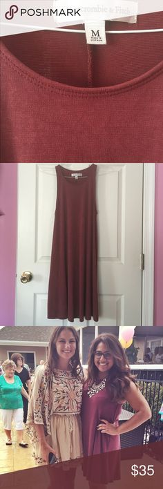 Abercrombie and Fitch swing dress Adorable soft, pink swing dress. Only worn once Abercrombie & Fitch Dresses Midi