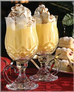 Traditional Holiday Eggnog. 2012 Happy Holidays from The Culinary Marketing Group. Follow link to recipe!