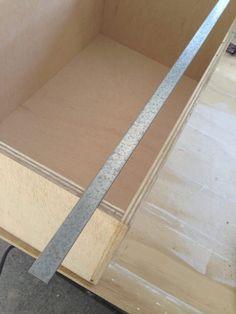 How to build a hanging file folder drawer - Sawdust Girl® File Folder Organization, Home Organisation, Kitchen Organization, Storage Organization, Storage Ideas, Hanging File Organizer, Hanging File Folders, Diy File Cabinet, Drawer Filing Cabinet