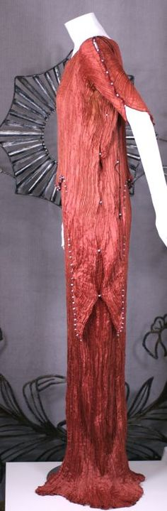 Mariano  Fortuny Sienna Peplos Gown image 4