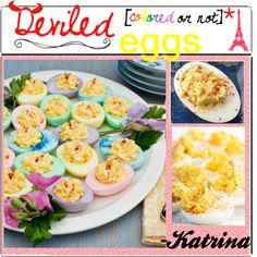 """Deviled Eggs"" by thepolyvorecook on Polyvore"