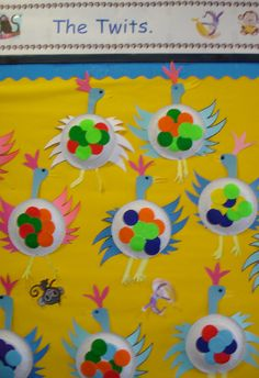 The Twits classroom display photo - Photo gallery - SparkleBox