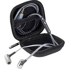 Listen to your tunes and take calls with the Ifidelity Jazz Earphones. Milled Aluminum housing assists with delivering amazing sound quality. Best Headphones, Cool Cases, Tech Gifts, Headset, Jazz, Purses, Artists, Songs, Pocket